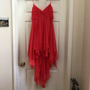 Cache Neon Salmon Dress